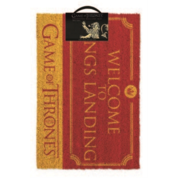 Game Of Thrones - Welcome To Kings Landing Door Mat
