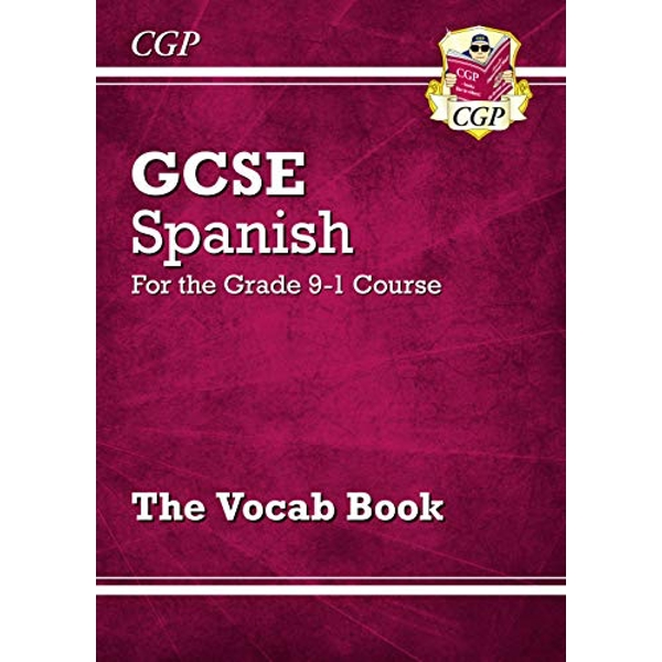 New GCSE Spanish Vocab Book - for the Grade 9-1 Course by CGP Books (Paperback, 2017)
