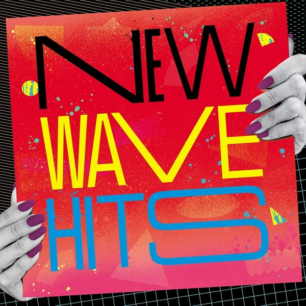 Various Artists - New Wave Hits Blue/Red Marble Swirl  Vinyl