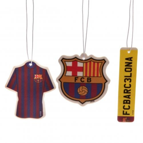 FC Barcelona 3 Pack Air Freshener
