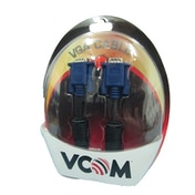 VCOM VGA (M) to VGA (M) 1.8m Black Retail Packaged Display Cable