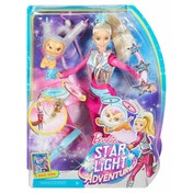 Barbie Star Light Adventure with Hover Cat Doll