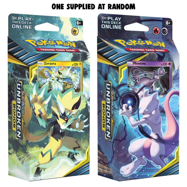 Pokemon TCG: Sun & Moon 10 Unbroken Bonds Theme Deck - Image 1
