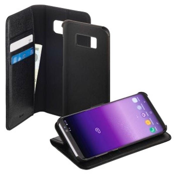 "Hama ""2in1"" Booklet for Samsung Galaxy S8+, black/black"