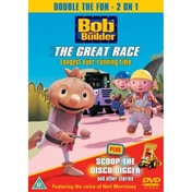 Bob The Builder - The Great Race / Scoop The Disco Digger DVD