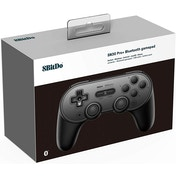 8Bitdo SN30 Pro+ Gamepad Black for Nintendo Switch