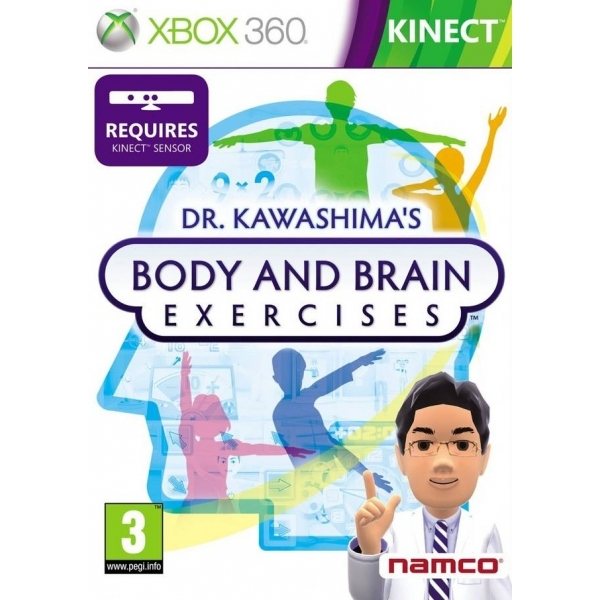 Kinect Dr Kawashimas Body And Brain Exercises Game Xbox 360
