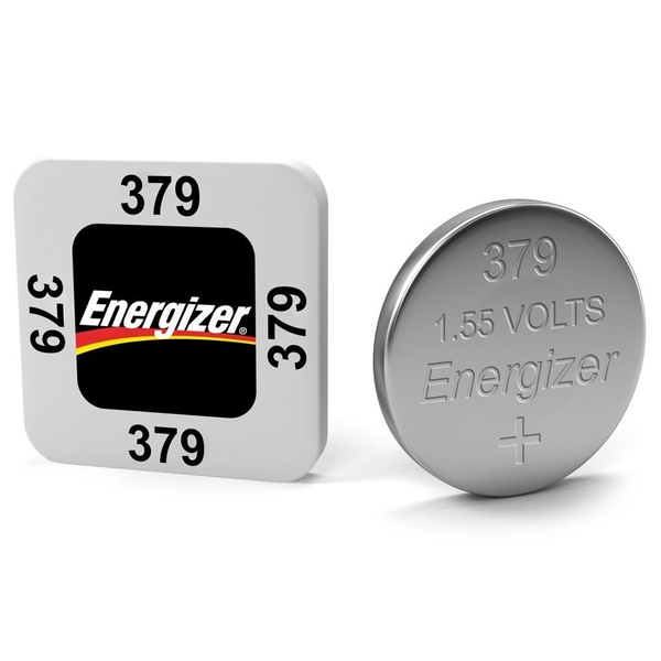 Energizer SR63/S56 379 Silver Oxide Coin Cell Watch Battery