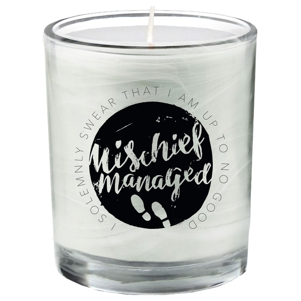 Mischief Managed (Harry Potter) Candle