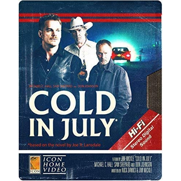 Cold In July Steelbook Blu-Ray