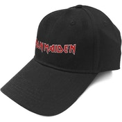 Iron Maiden - Logo Men's Baseball Cap - Black