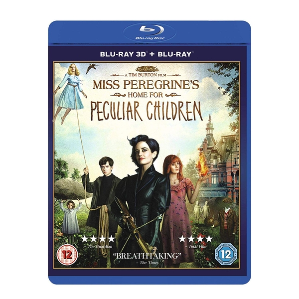 Miss Peregrine's Home For Peculiar Children 3D Blu-ray