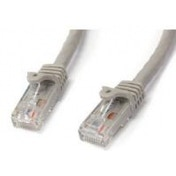 StarTech.com Grey Gigabit Snagless RJ45 UTP Cat6 Patch Cable Patch Cord (5m)