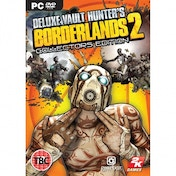 Borderlands 2 Deluxe Vault Hunters Collector's Edition Game PC