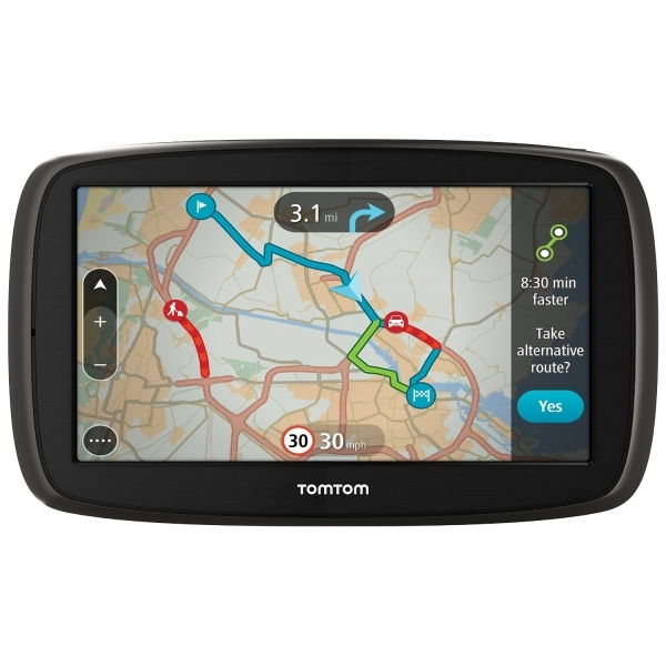 TomTom GO 60 6-inch Sat Nav with Lifetime Map of Western Europe and