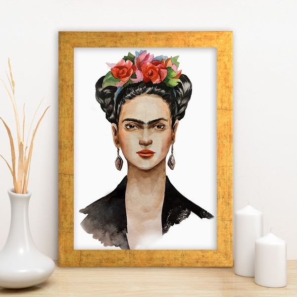 AC1403863421 Multicolor Decorative Framed MDF Painting