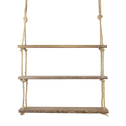 Wooden Hanging Shelf | M&W 3 Tier