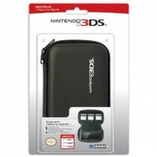 Hori Officially Licensed Hard Pouch Case Black 3DS/DSi/DSL