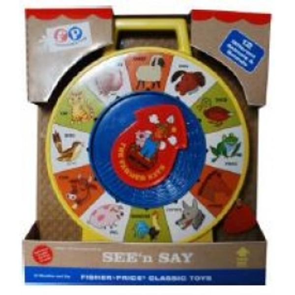 0efecf3490e75 Fisher Price Childrens Classics See N Say The Farmer Says - 365games ...