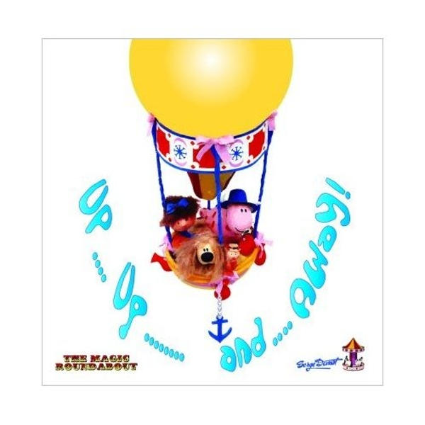 Magic Roundabout - Balloon Ride Greetings Card