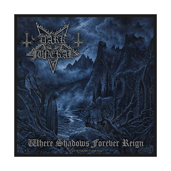 Dark Funeral - Where Shadows Forever Reign Standard Patch
