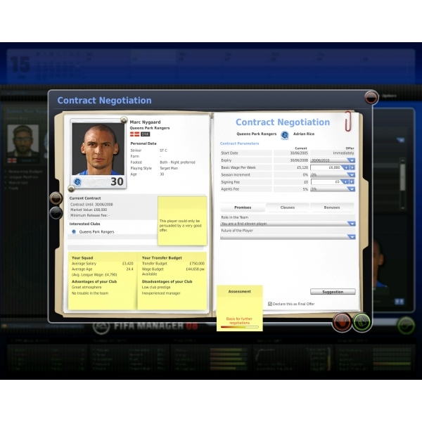 FIFA Manager 08 (Classics) Game PC - Image 4