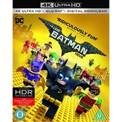 The LEGO Batman Movie 4K UHD Blu-ray