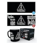 Harry Potter Deathly Hallows Heat Change Mug