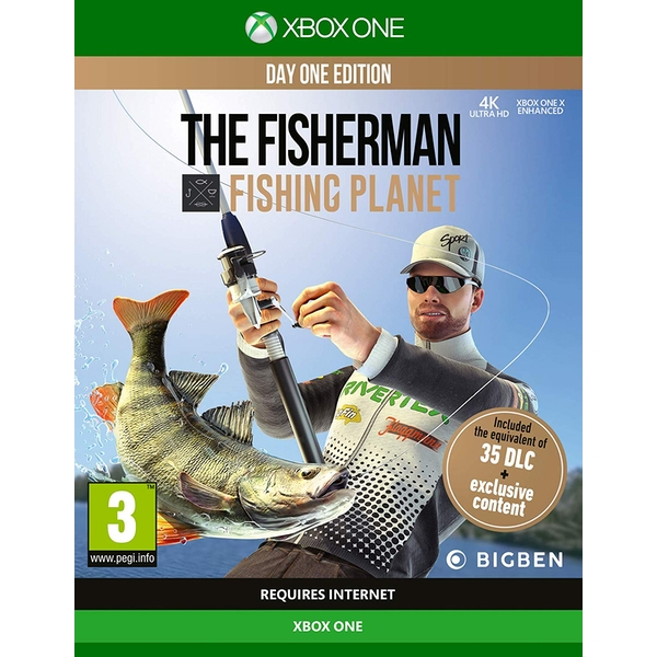 The Fisherman Fishing Planet Xbox One Game