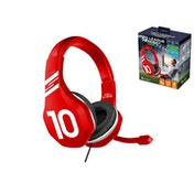 Subsonic Pro League Gaming Multi Format Headset with Microphone Red