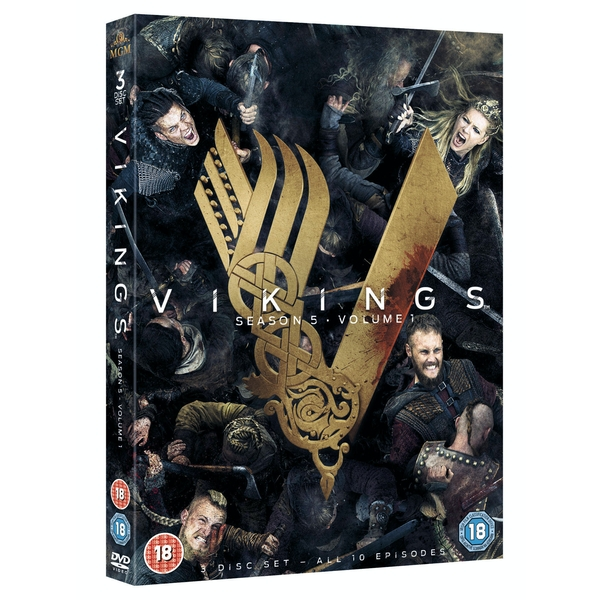 Vikings: Season 5 - Volume 1 DVD