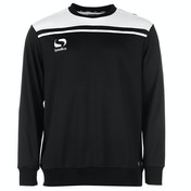 Sondico Precision Sweatshirt Youth 11-12 (LB) Black/White