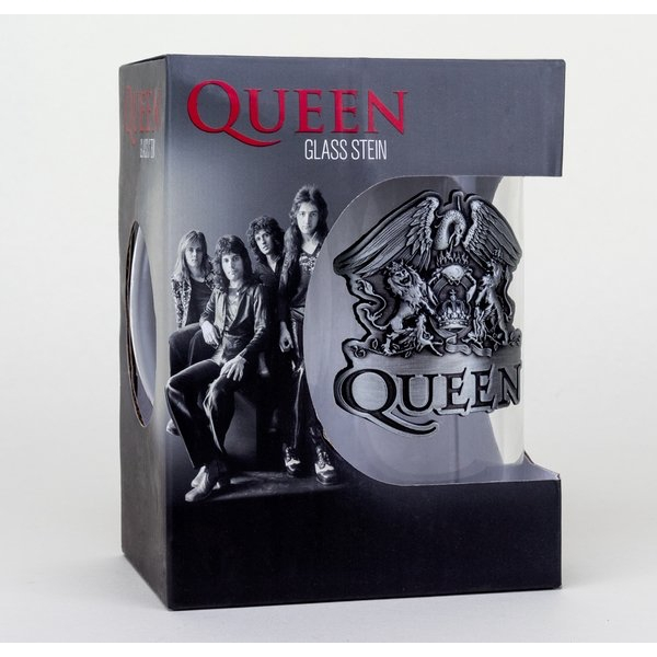 Queen - Crest (Bravado) Stein Glass - Image 1