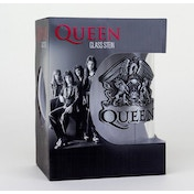Queen - Crest (Bravado) Stein Glass