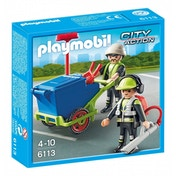 Playmobil City Action City Cleaning Sanitation Team