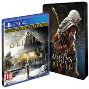 Assassin's Creed Origins Gold Edition + Steelbook PS4 Game
