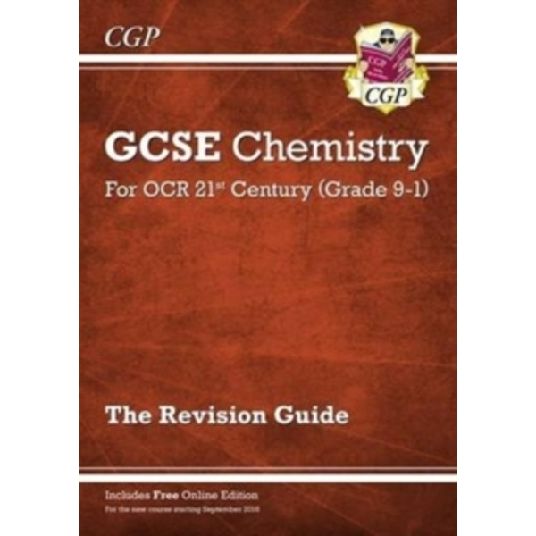 New Grade 9-1 GCSE Chemistry: OCR 21st Century Revision Guide with Online Edition by CGP Books (Paperback, 2016)