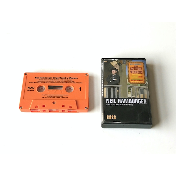 Neil Hamburger ‎- Neil Hamburger Sings Country Winners Cassette