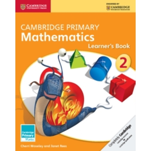 Cambridge Primary Mathematics Stage 2 Learner's Book by Cherri Moseley, Janet Rees (Paperback, 2014)