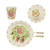 Sass & Belle Sloth and Friends Bamboo Tableware Set