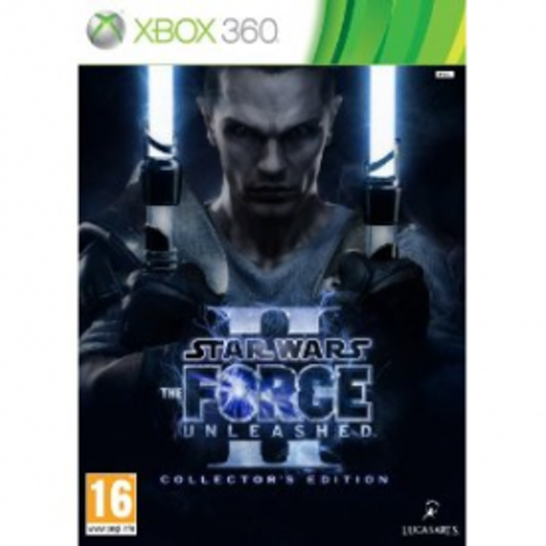 Star Wars The Force Unleashed II 2 Collector's Edition Game Xbox 360