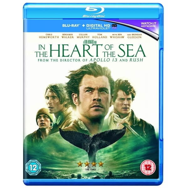 In the Heart of the Sea 2016  Blu-ray