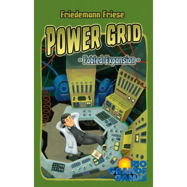 Ex-Display Power Grid: Fabled Expansion Board Game Used - Like New