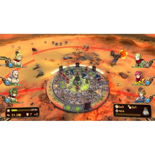 Aegis Of Earth Protonovus Assault PS3 Game - Image 5