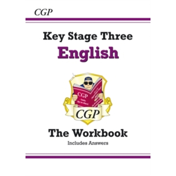 KS3 English Workbook (with Answers) by CGP Books (Paperback, 2009)