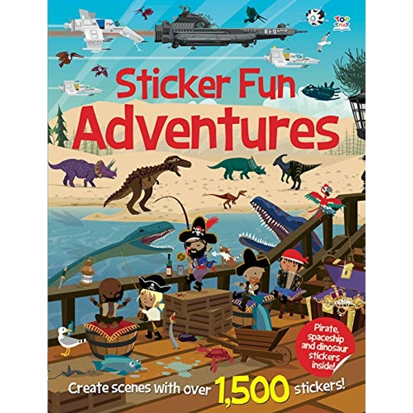 Sticker Fun Adventures by Top That! Publishing Ltd (Paperback, 2014)