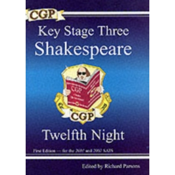 KS3 English Shakespeare Text Guide - Twelfth Night by CGP Books (Paperback, 2000)