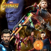 Avengers: Infinity War - Space Montage Canvas
