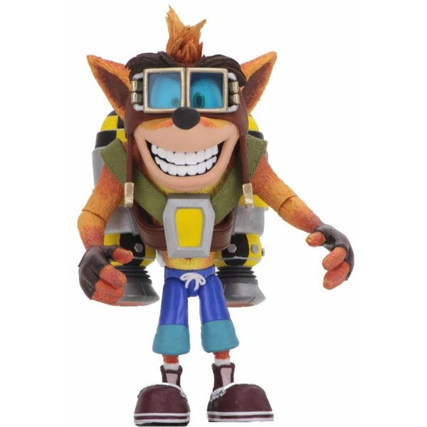 Crash Bandicoot with Jetpack Neca Action Figure - Image 1