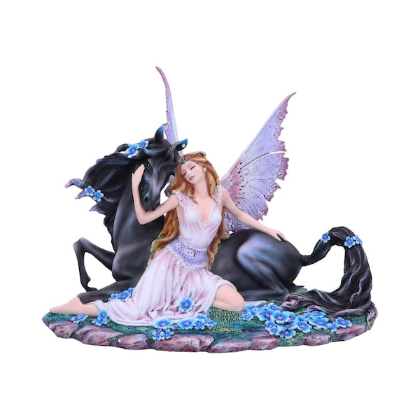 Spirit Bond Unicorn and Fairy Figurine